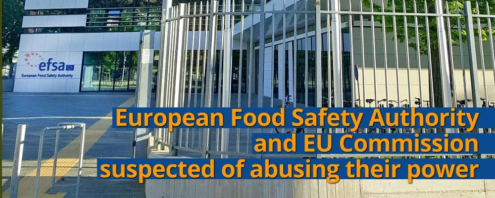 EFSA caught up in massive conflicts of interest whilst at the same time dismissing scientific findings
