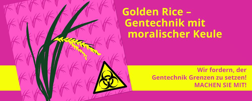 52 Golden Rice - Gentechnik mit moralischer Keule