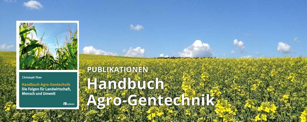 Handbuch Agro-Gentechnik Christoph Then