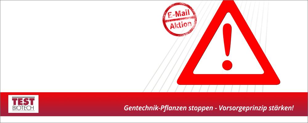 Zulassung von Gentechnik-Pflanzen: Vorsorgeprinzip stärken!