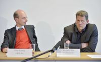 Peter Röhrig (BÖLW) und Christoph Then (Testbiotech)