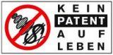 Logo Kein Patent auf Leben